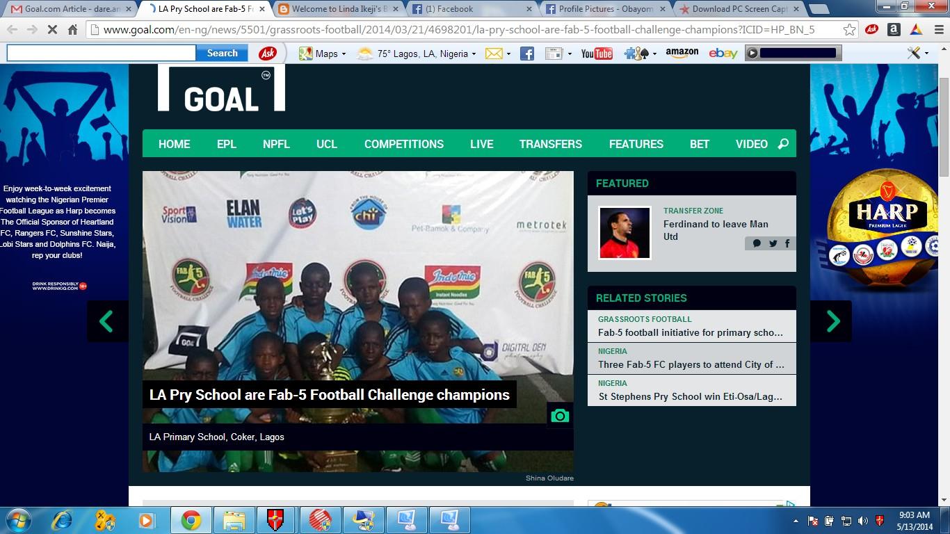 Goal.com Post Event